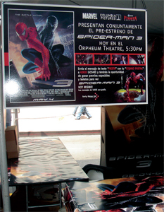 Spider-Man 3 - Fiesta Broadway - Display 3