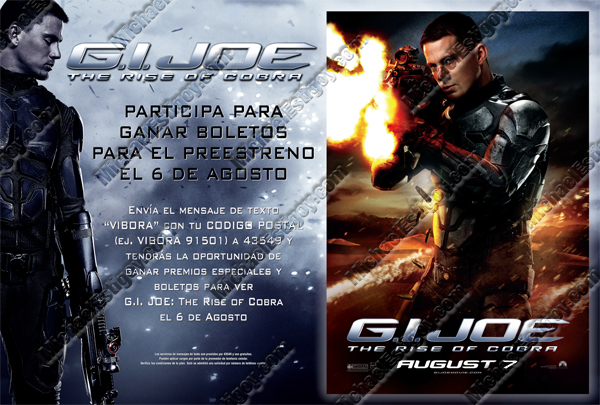 Thumbnail of GI Joe Hispanic Poster - Duke