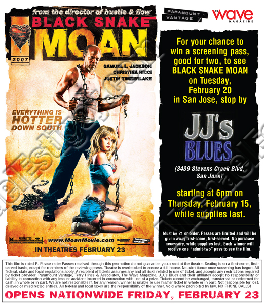 Black Snake Moan Wave ad