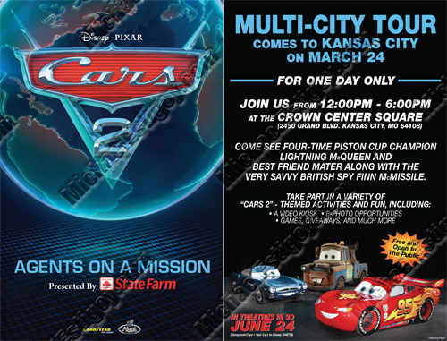 Cars 2 Kansas City Flyer