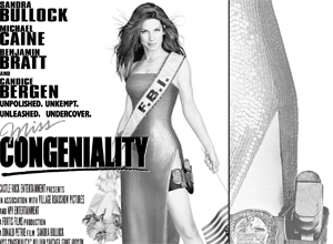 Thumbnail of Miss Congeniality SF Weekly Half Page ad