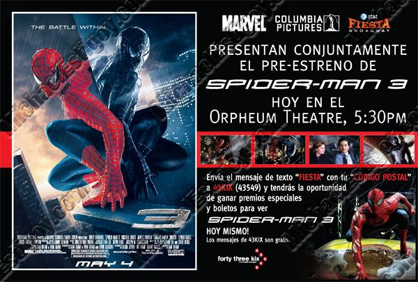 Spider-Man 3 - Fiesta Broadway
