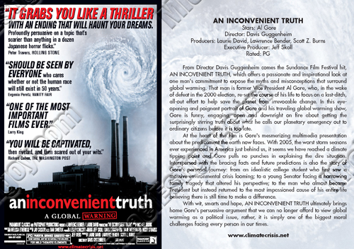 An Inconvenient Truth Flyer Synopsis