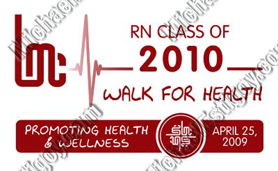 LMC RN Class of 2010 Walk-a-Thon - Logo